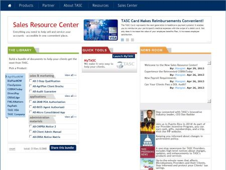 Sales Resource Center